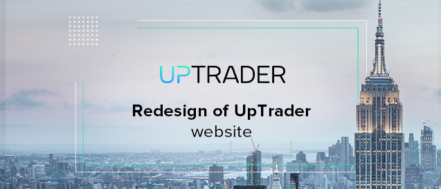 Redesign of UpTrader website