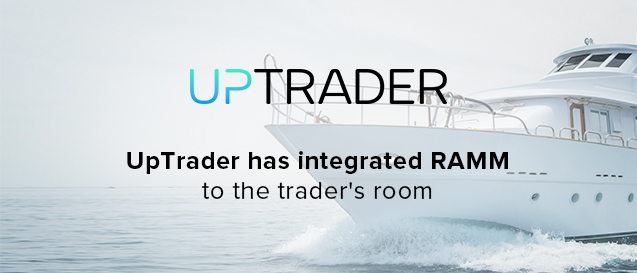 UpTrader integrates RAMM into trader interface