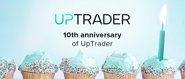 New slogan to celebrate the 10th anniversary of UpTrader