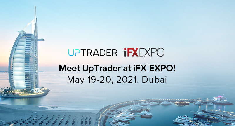 UpTrader at iFX EXPO Dubai 2021