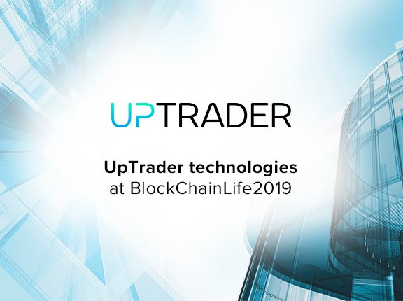 Which UpTrader technologies have become bestsellers at BlockChainLife2019?