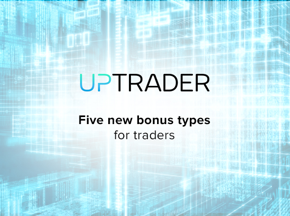 UpTrader CRM now has 5 new bonus programs for traders